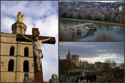 Yarım kalmışlıklara ilham köprüden varılamayan karşı kıyılara bakmaya dair... Avignon, Orange